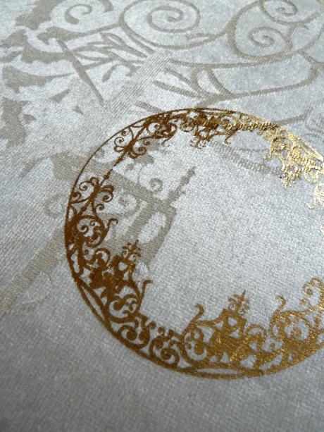 Bamboo Velvet Foil detail 3
